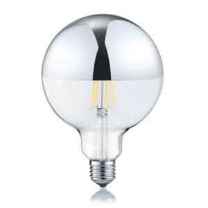 Trio Lighting LED žárovka E27 G125 7W 2700K zrcadlená