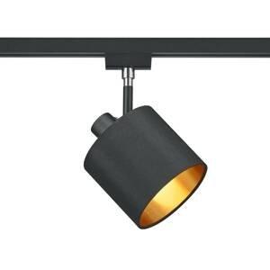 Trio Lighting 2fázový spot DUOline 783301 E14 černá/zlatá