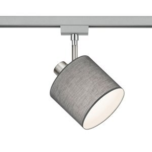 Trio Lighting 2fázový spot DUOline 783301 E14 šedý