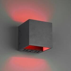 Trio Lighting Trio WiZ Figo LED nástěnné světlo černé matné