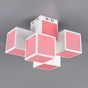 Trio Lighting Trio WiZ Oscar LED stropní světlo 45x30cm, bílá