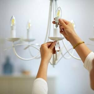 WiZ WiZ LED Filament C35 E14 6,5W 2 700-6 500K čirá