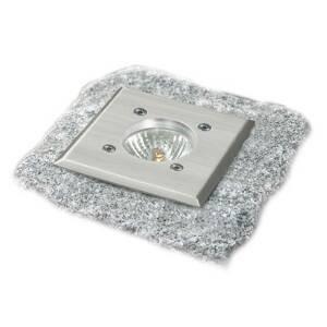 Heitronic Podlahové svítidlo V4A lze přejíždět, hranaté