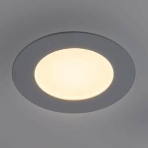 Heitronic LED panel Lyon, kulatý Ø, 16,8 cm, stmívatelný