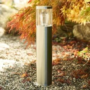 Heitronic Soklové světlo Naxos z nerezové oceli