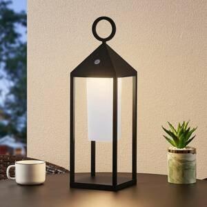Lucande Lucande Miluma LED venkovní lucerna, 54 cm, černá