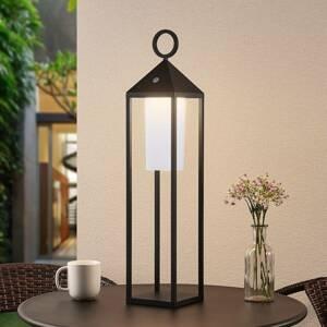 Lucande Lucande Miluma LED venkovní lucerna, 64 cm, černá