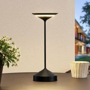 Lucande Lucande Raminum venkovní stolní lampa LED, černá