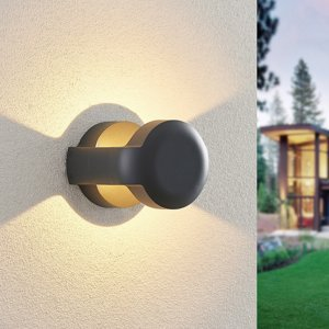 Lucande Lucande Habsa LED venkovní nástěnné svítidlo