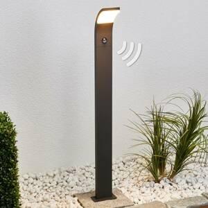 Lucande LED osvětlení cesty Timm s čidlem pohybu, 100 cm