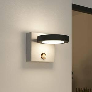 Lucande Lucande Belna LED venkovní světlo, beton, čidlo