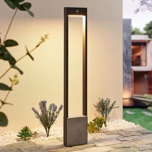 Lucande Lucande Tekiro LED osvětlení cesty, senzor, 100 cm