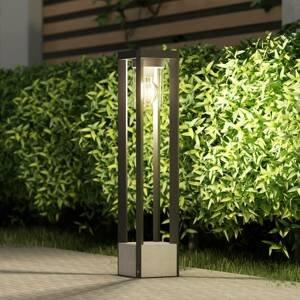 Lucande Lucande Kalisa osvětlení cesty, hranaté, E27