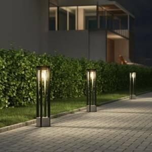Lucande Lucande Overa osvětlení cesty, kulaté, E27