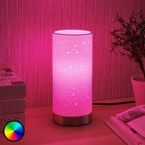Lindby Lindby Smart LED stolní lampa Alwine s body