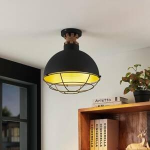 Lindby Lindby Swantja stropní světlo, klec, černá
