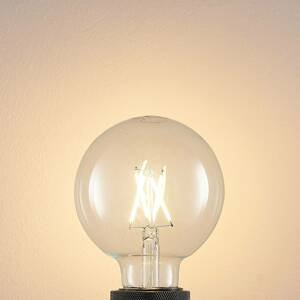 Arcchio LED žárovka E27 4W 2700K globe, filament, čirá