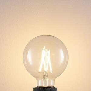 Arcchio LED žárovka E27 8W 2700K globe, filament, čirá