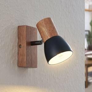 Lindby Lindby Tonja, reflektor se dřevem, jeden zdroj