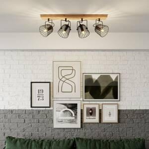 Lindby Lindby Adalin stropní světlo, čtyři zdroje, klec