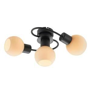 Lindby Lindby LED stropní světlo Ciala 3 zdroje černobílá