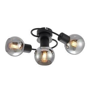 Lindby Lindby LED stropní světlo Elaina 3 zdroje kouřová