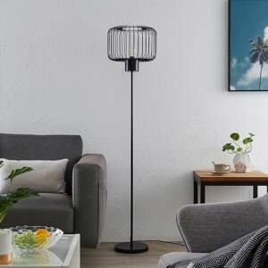 Lindby Lindby Vatiki stojací lampa s klecovým stínidlem