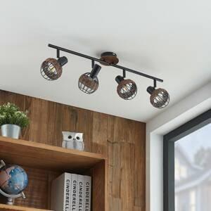 Lindby Lindby Nermina ratan reflektor, klec, čtyři zdroje
