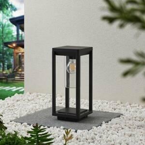Lindby Lindby Estami světlo na soklu, 35 cm, tmavě šedá