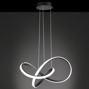 Wofi WiZ Indigo LED závěsné světlo černé