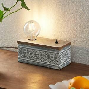 Lindby Lindby Mella stolní lampa s vintage charakterem