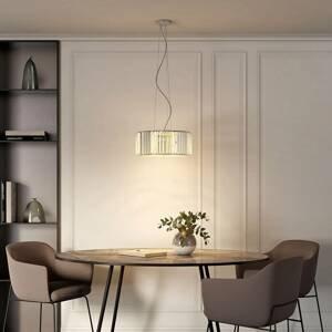Lucande Lucande Alobani LED závěsné svítidlo s krystaly