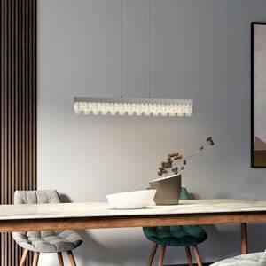 Lucande Lucande Bayano LED závěsné svítidlo s krystaly