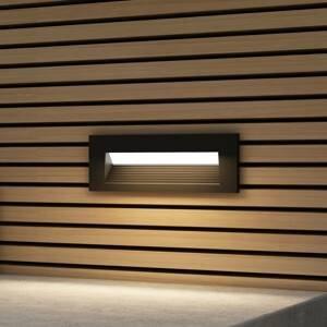 Arcchio Arcchio Javis podhledové světlo žebrované černé