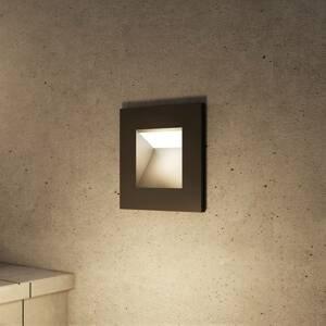 Arcchio Arcchio Zamo nástěnné zapuštěné světlo G9, černé