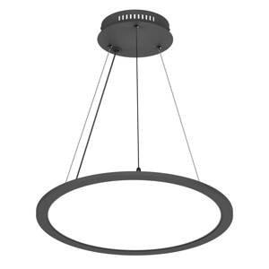 PRIOS Prios Palino LED závěsné světlo, 50 cm, černá