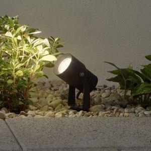 Lucande LED venkovní bodové osvětlení Jon, pohyblivá hlava