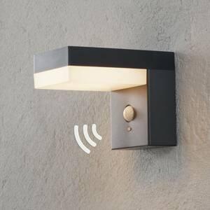 Lindby LED solární venkovní svítidlo Chioma se senzorem