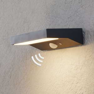 Lindby LED venkovní nástěnné svítidlo Maresia se senzorem