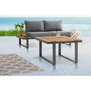 LuxD Designový zahradní odkládací stolek Gazelle 78 cm Polywood