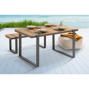 LuxD Designový zahradní stůl Gazelle 123 cm Polywood