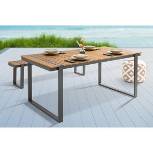 LuxD Designový zahradní stůl Gazelle 180 cm Polywood