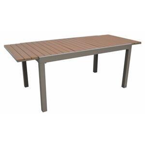 Stůl zahradní rozkládací CALVIN 301 barva: hnědá