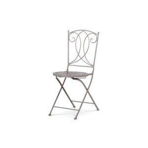 Zahradní židle, keramická mozaika JF2229
