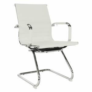 Zasedací stolička, bílá, AZURE 2 NEW TYP 2