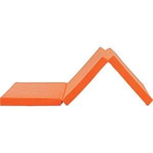 SKLÁDACÍ MATRACE, 65/185 cm - oranžová