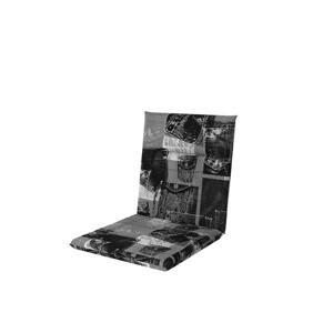 PODLOŽKA NA ŽIDLI, 48/100/5 cm - antracitová, šedá