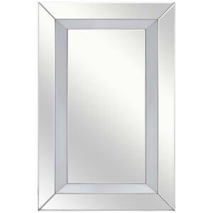 Xora NÁSTĚNNÉ ZRCADLO, 80/120/4,8 cm, - barvy stříbra
