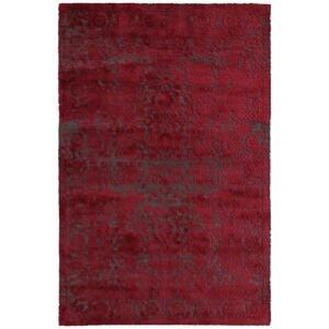 Novel VINTAGE KOBEREC, 80/150 cm, šedá, červená - šedá, červená