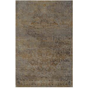Novel VINTAGE KOBEREC, 160/230 cm, žlutá, šedá - žlutá, šedá